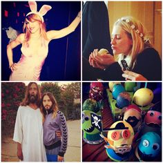 See How The Stars Celebrated Easter, Get The Happy App, Game of Thrones 'Purple Wedding' Looks & More