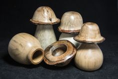 image of mushroom trinket boxes