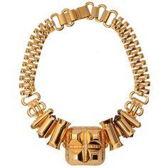 Studded barrel necklace   Scott Wilson