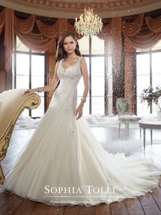 Ryan Bridal dress from the 2015 collection by Sophia Tolli. Available in Canada at Best for Bride : Toronto (North York), Superior Bridal (Markham), Icings Bridal Boutique (Cold Lake), Ethos Bridal Group (Calgary), ...