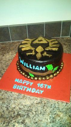 Zelda chocolate lovers cake