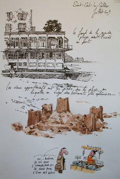Yann Lesacher - Le blog de yal - Croquis d'humour, aquarelles de voyages...