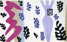 The Knife Thrower - Henri Matisse. Artist: Henri Matisse. Completion Date: 1947. Style: Abstract Expressionism
