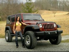 Lifted Jeep Girl