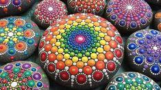 Mandala kövek Elspeth McLean-től