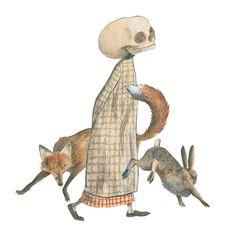 El pato y la muerte #Wolf Erlbruch