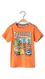 Camiseta en naranja