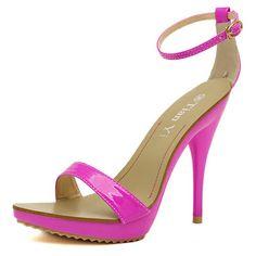 Stiletto Heeled Sandals