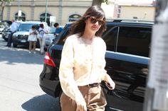 Anastasia Barbieri, rédactrice en chef mode de Vogue Hommes International http://www.vogue.fr/vogue-hommes/mode/diaporama/street-looks-a-la-fashion-week-homme-printemps-ete-2014-de-milan-jour-2/14034/image/781413#!anastasia-barbieri-redactrice-en-chef-mode-de-vogue-hommes-international