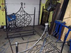 Miller - Welding Projects - Idea Gallery - She's Got My Heart Bed Frame