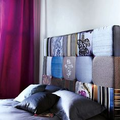 20 Ideas for Making Your Own Headboard