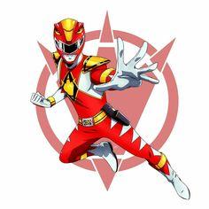 Power Rangers Fan Art, Power Rangers 2017, Power Rangers Samurai, Mighty Morphin Power Rangers, Dino Rangers, Power Rangers Dino, Ranger Armor, Power Rengers, Robot Cartoon