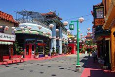 Los Angeles Chinatown.