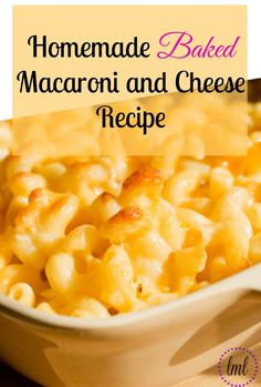 I know that Spring is near, but that certainly doesn't mean that comfort food is OUT, so I want to share one of my family's faves….homemade macaroni and cheese!  Not to say that my kids don't like and eat Kraft Easy Mac n' Cheese, but they super love my homemade stuff! ♥
