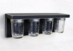 Hey, I found this really awesome Etsy listing at https://www.etsy.com/listing/185583265/storage-shelf-with-mason-jars-wood-shelf