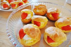 Top Creative Food » Strawberry puff