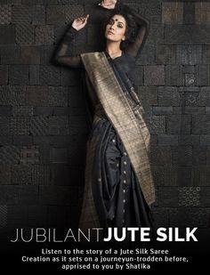 Interesting. Jute silk