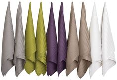 pillows from dish towels | cotton tea towels
