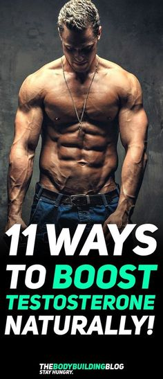 Find out what are The 11 Ways to Boost Your Testosterone Naturally! #fitness #gym #workout