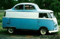 Vw bus w/ a bug out look