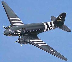 C-47 Cargo Plane - Douglas Aircraft - WW2 - USAAF
