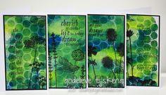 StampingMathilda: Darkroom Door Flowers and Quotes