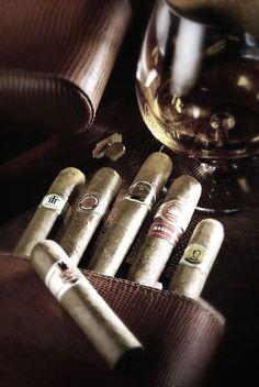 Gentlemen: #Cognac and #Cigars.