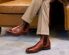 Fashion Archives: A Look at the History of the Chelsea Boot Rm Williams, Red Wing Boots, Italian Shoes, Leather Chelsea Boots, Dress Codes, Clogs, Footwear, Booty, Mens Fashion