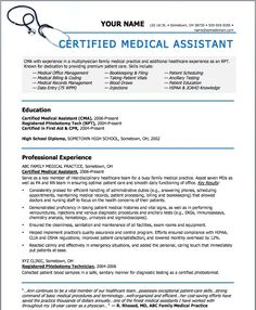 Objective For Resume Medical Assistant Medical Assistant Resume Sample,  Medical Resume Templates 14 Medical Assistant Resume Uxhandycom, Medical  Assistant ...