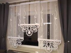 Small House Interior Design, Window Treatments, Chandelier, Windows, Ceiling Lights, Curtains, Bedroom, Home Decor, Lace Curtains