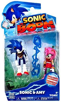 All new Sonic Boom toys from TOMY. Sonic & Amy Action Figure 3 Inch Sonic The Hedgehog Sonic Boom Sonic And Amy, Sonic And Shadow, Sonic Boom, Hedgehog Birthday, Sonic Birthday, Star Wars Poster, Star Wars Art, Star Trek, Sonic Figures