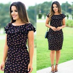 "6,035 Likes, 278 Comments - P A O L A S A N T A N A (@paaolasantanaa) on Instagram: ""{Vestido Lindo da @ellasmodas} @ellasmodas Para compra: www.ellasmodas.com.br (11) 94241 2123"""