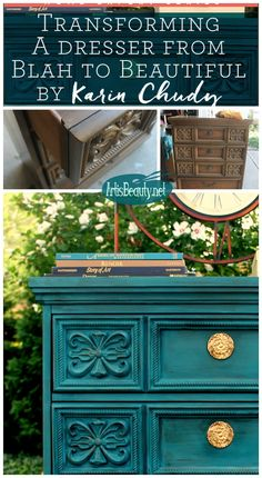 ART IS BEAUTY: Transforming a Dresser from BLAH to BEAUTIFUL Home expert Series