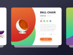 Ball Chair Cards !dea