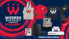 Enter This Winner's Choice Xbox One S or PS4 and Wizard DG Swag Bag Giveaway!