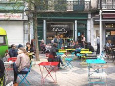Spotted: Cipiace, a cafe - bar with a great terrace that serves Italian delicacies in Brussels!