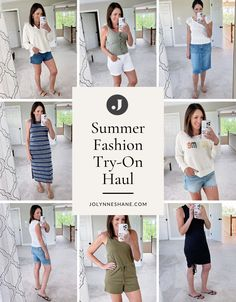 Jo-Lynne Shane shares a fashion try-on haul for women over 40 featuring summer styles from Evereve, LOFT, Banana Republic, White House Black Market, and Nordstrom. Check out this summer's best skirts, dresses, tops, and shorts.