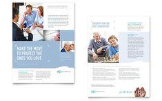 Layout / Estate Planning - Sales Sheet Template Design