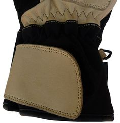 Short Cuff Glove. Huge velcro closure