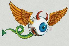 Flying Eye by Johnny Stingray