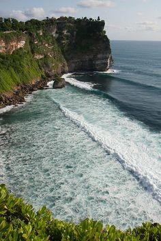 Uluwatu, Bali The best waves are here. Hope I'll be there soon again