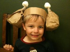 Thanksgiving Turkey Hats - Just silly fun.