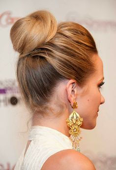 Softly Swept or Tighly Slicked - Buns are the Fashion!