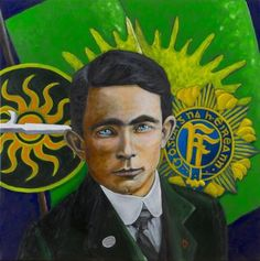 Original Portrait Painting by Antoon Knaap Roisin Dubh, Easter Rising, Original Art, Original Paintings, Buy Art, Documentaries, Saatchi Art, Ireland, Irish