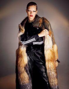 Anna Ewers by Ezra Petronio for Vogue Japan November 2016