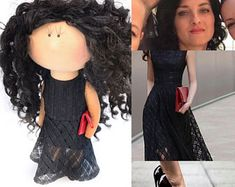 Personalized custom portrait rag doll by photo by OKhandmadeDolls Dolls, Portrait, Trending Outfits, Unique, Vintage, Baby Dolls, Headshot Photography, Puppet, Doll