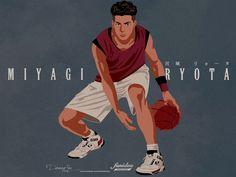 Fashion and Lifestyle Basketball Drawings, Basketball Moves, Basketball Anime, Kuroko, Slam Dunk Manga, Delta Art, Inoue Takehiko, Miyagi, Boy Art