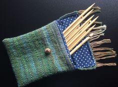Tasche Jägermeister II - spinnweben handgesponnene und handgewebte Schafwolle