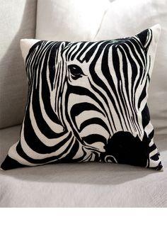 Zebra Cushion from Ezibuy $29.99 NZD