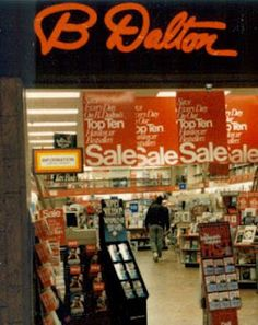 Dalton Booksellers- I worked at Waldenbooks and this was the rival bookstore in the mall! Those Were The Days, The Good Old Days, Great Memories, Childhood Memories, Oldschool, 80s Kids, I Remember When, Good Ole, Infancy